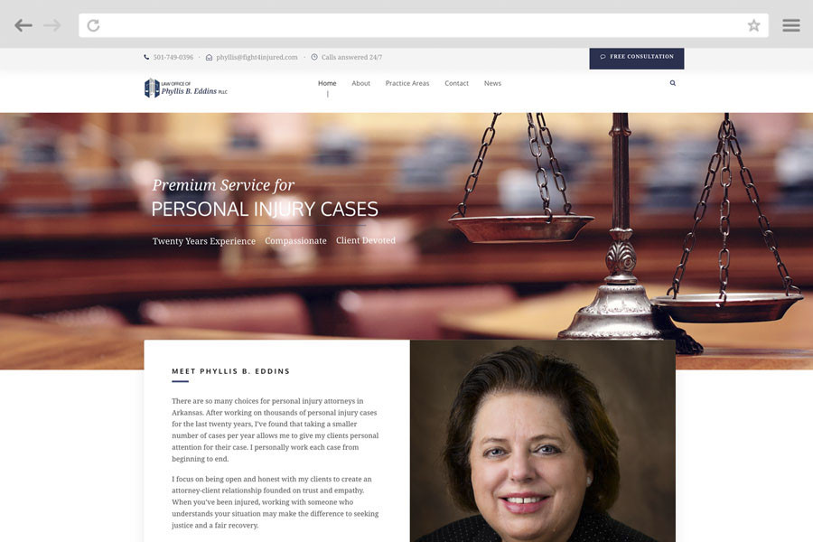 Law Firm Marketing Case Study - Law Offices of Phyllis B. Eddins