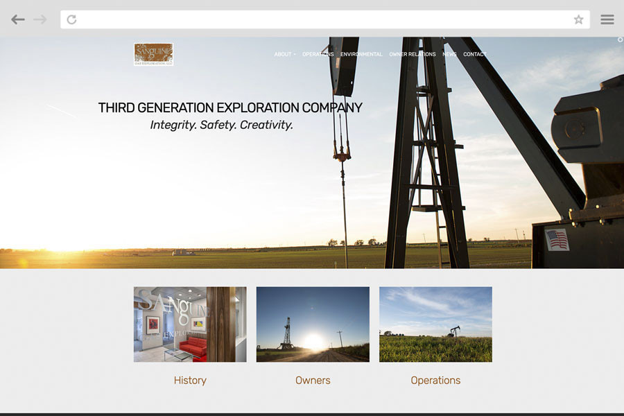 Small Business Marketing Case Study - Sanguine Gas Exploration