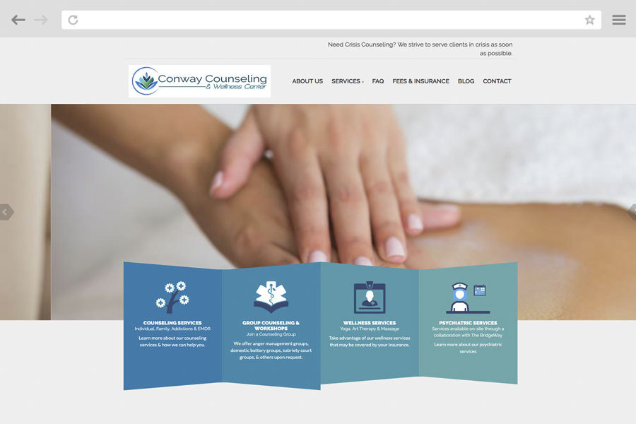Small Business Marketing Case Study - Conway Counseling & Wellness