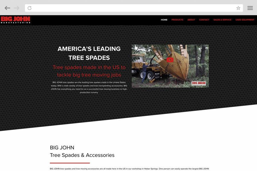 Small Business Marketing Case Study - Big John Tree Spades