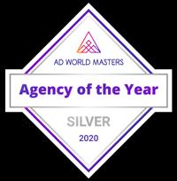 Agency of the Year, Silver Award Adworld Masters