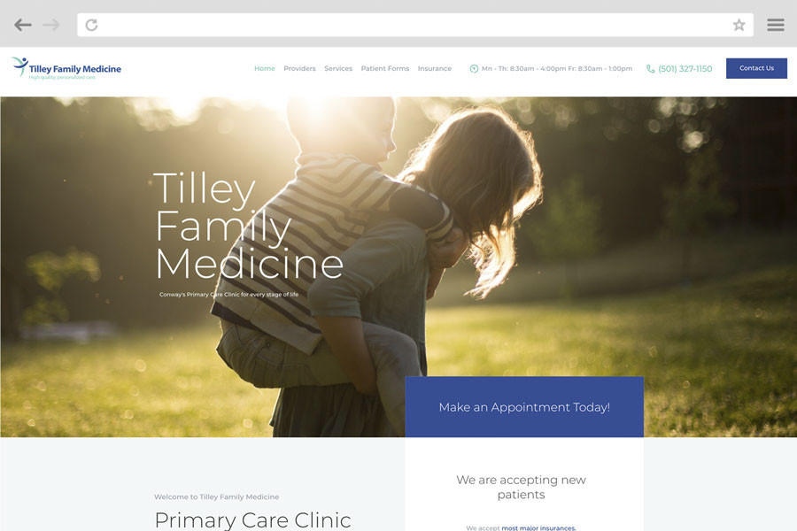 Small Business Marketing Case Study - Tilley Family Medicine