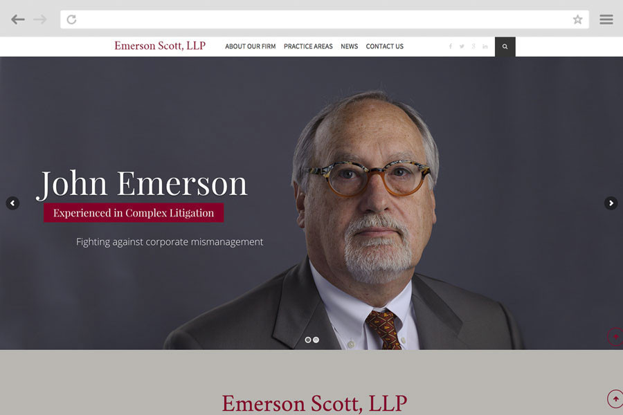 Law Firm Marketing Case Study - Emerson Scott, LLP