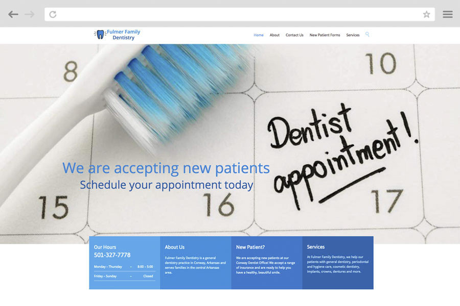 Small Business Marketing Case Study - Fulmer Family Dentistry